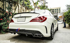 FOR MERCEDES BENZ W117 C117 CLA250 AMG PACKAGE CARBON REAR DIFFUSER SPOILER
