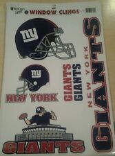 """New York Giants NFL 11""""x17"""" Car Window Cling Decal by Wincraft"""