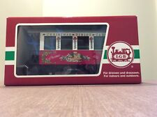 LGB Christmas Dining Car 2002-33130 (Excellent Condition/In Original Box)