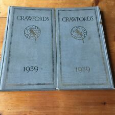 More details for antique advertising desk top item crawford's biscuits diary,memo ink blotter '39