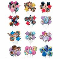 Kids Characters BOUQUET BALLOONS Birthday Party Range (Tableware & Decorations)