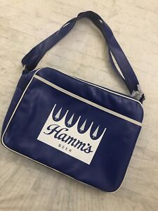 Vintage Hamm's Insulated beer cooler Tote Bag New Condition