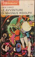 LE AVVENTURE DI MAGNUS RIDOLPH di Jack Vance  Galassia La Tribuna 1973 RARO!