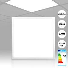 LED Panel 62x62 neutralweiß 5000K CRI90 hohe Farbwiedergabe 40W PMMA mit Treiber