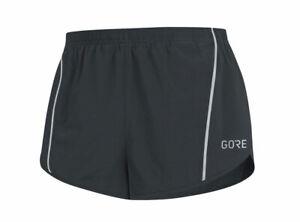 Pantalone Running GORE R5 Split - Nero