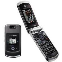 Motorola Moto W755 - Black (Verizon) Cellular Phone Page Plus Straight Talk