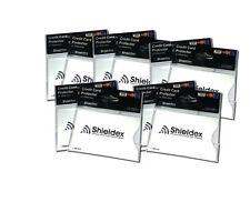 10 x  RFID Blocking Shieldex Credit Card Protector Sleeve Anti Theft Scan Safe