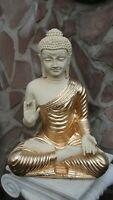 Buddha Budda Groß Statue Feng Shui Garten Figur Wetterfest Deko Tempelwächter CG