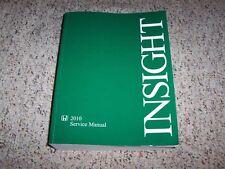 2010 Honda Insight Hybrid LX EX Shop Service Repair Manual Set 1.3L 4-cylinder