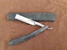 Wade & Butcher Sheffield Straight Razor in Original Coffin