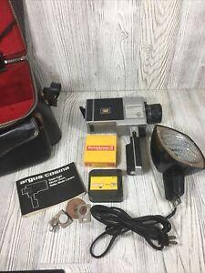 Argus/Cosina Model 704 Electric Zoom Movie Camera W Light & Kodachrome Film 15mm