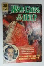 WAR GODS OF THE DEEP DELL MOVIE CLASSICS SEPT 1965 VINCENT PRICE SUSAN HART VG-