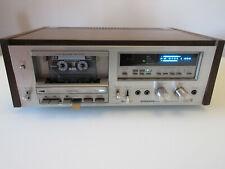 PIONEER CT-F750 Tape Deck Auto Reverse 1980 in perfette condizioni