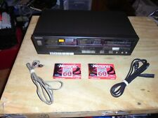 Technics RS-B7 Single-Deck Stereo Cassette Deck *Tested Working* with cassettes