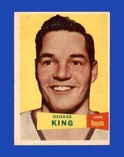 1957-58 Topps Set Break # 6 George King EX-EXMINT *GMCARDS*