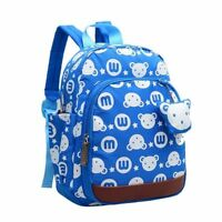 Bear Cute Kids Children Backpack School Bag Toddler Backpack Blue