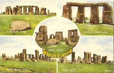STONEHENGE( Wiltshire) :  Stonehenge -multiview-VALENTINE'S