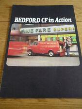 """BEDFORD CF """" IN ACTION""""  BROCHURE jm"""