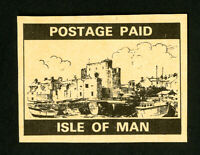 Isle of Man Stamps VF Black Post Pair Proof