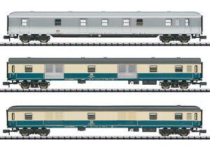 """Trix  Minitrix 15424 Wagen-Set """"ExprD 14117"""" der DB 3-teilig #NEU in OVP#"""