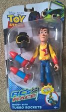 Disney Toy Story RC Race Woody Deluxe figure UK seller