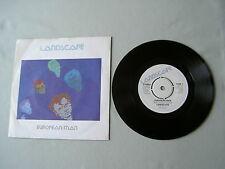 """LANDSCAPE European Man/The Mechanical Bride 7"""" vinyl single"""