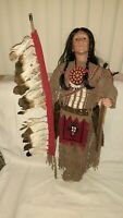 Timeless Collection Great Apache Indian Doll Limited Edition Porcelain 954/2500