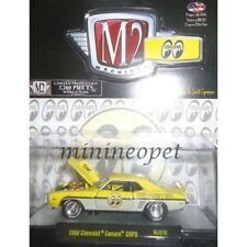 M2 MACHINES 32500 MJS10 1969 CHEVROLET CAMARO COPO 1/64 DIECAST MOONEYES YELLOW