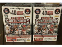 LOT OF 2! 2020 Panini NFL Contenders Football Sealed BLASTER Box Burrow Herbert
