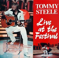 """Tommy Steele  - Live at the Festival - 12"""" LP"""
