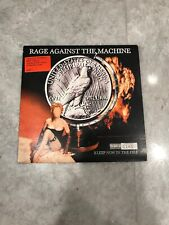"""Rage Against The Machine-Sleep Now In The Fire 7"""" Limited Red Vinyl"""
