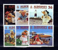 AURIGNY - ALDERNEY Yvert n° 152/157 neuf sans charnière MNH