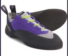 Evolv Nikita Climbing Shoe - Women's-Violet/Grey- 5 Us