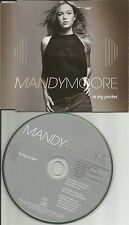Mandy Moore In My Pocket REMIXES w/ I wanna LIVE Australia CD Single USA Seller