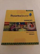 Rosetta Stone French Levels 1-5 Full Package