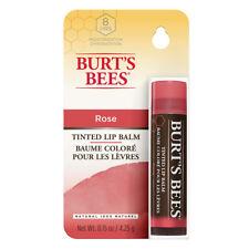 3 x 4.25g Burts Bees Lip Balm Tinted Rose
