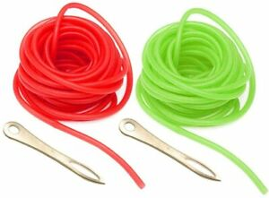 10m Rubber Band Slingshot Band Replacement 3x6mm Rubber Tube Tubing Catapult