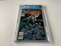 WOLVERINE 1 CGC 9.6 WHITE PAGES MARVEL COMICS 1988