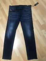NWD Mens Diesel BUSTER STRETCH Denim 0853V DARK BLUE R/Slim W33 L32 H7 RRP£150