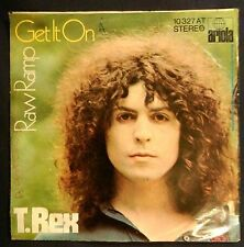 "rare T.REX ""GET IT ON"" PS GERMANY '71 1ST PRESS 10 327AT"
