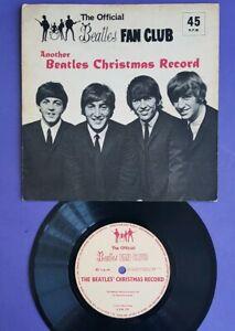 Another Beatles Christmas Record fan club flexi disc UK 1964 shiny & beautiful