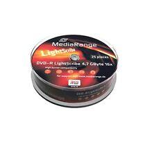 MediaRange CD, DVD and Blu-ray Discs