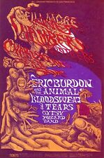 MINT Animals Chambers Brothers BS&T 1968 BG 132 Fillmore Poster