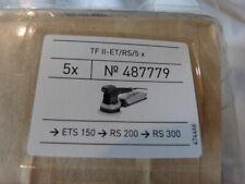 festool 5 sacs filtres pour ponceuses excentriques et vibrantes Turbo TF II-RS