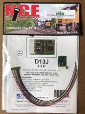 NCE 174 D13J HO DCC DECODER Quick-Plug NMRA 9-Pin (was D13SRJ)     MODELRRSUPPLY