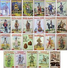 Miniart 1/16 Military Figure New Plastic Model Kit Figures MiniArt Mini Art 1 16