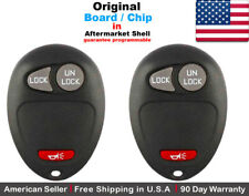 2x OEM Replacement Keyless Entry Remote Key Fob For GMC Pontiac Chevy Hummer