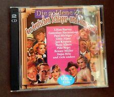 Doppel-CD - Die goldene Zeit der deutschen Schlager- und Filmmusik Vol. 2