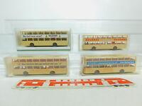 BO780-0,5# 4x Wiking H0/1:87 Bus MAN SD 200: 730 + 24730 + Veltins, NEUW+OVP