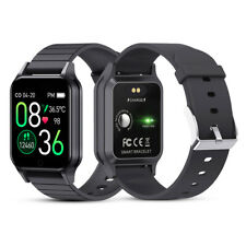 Smartwatch Bluetooth Uhr 2.5D HD Display Android iOS Samsung iPhone Huawei IP67